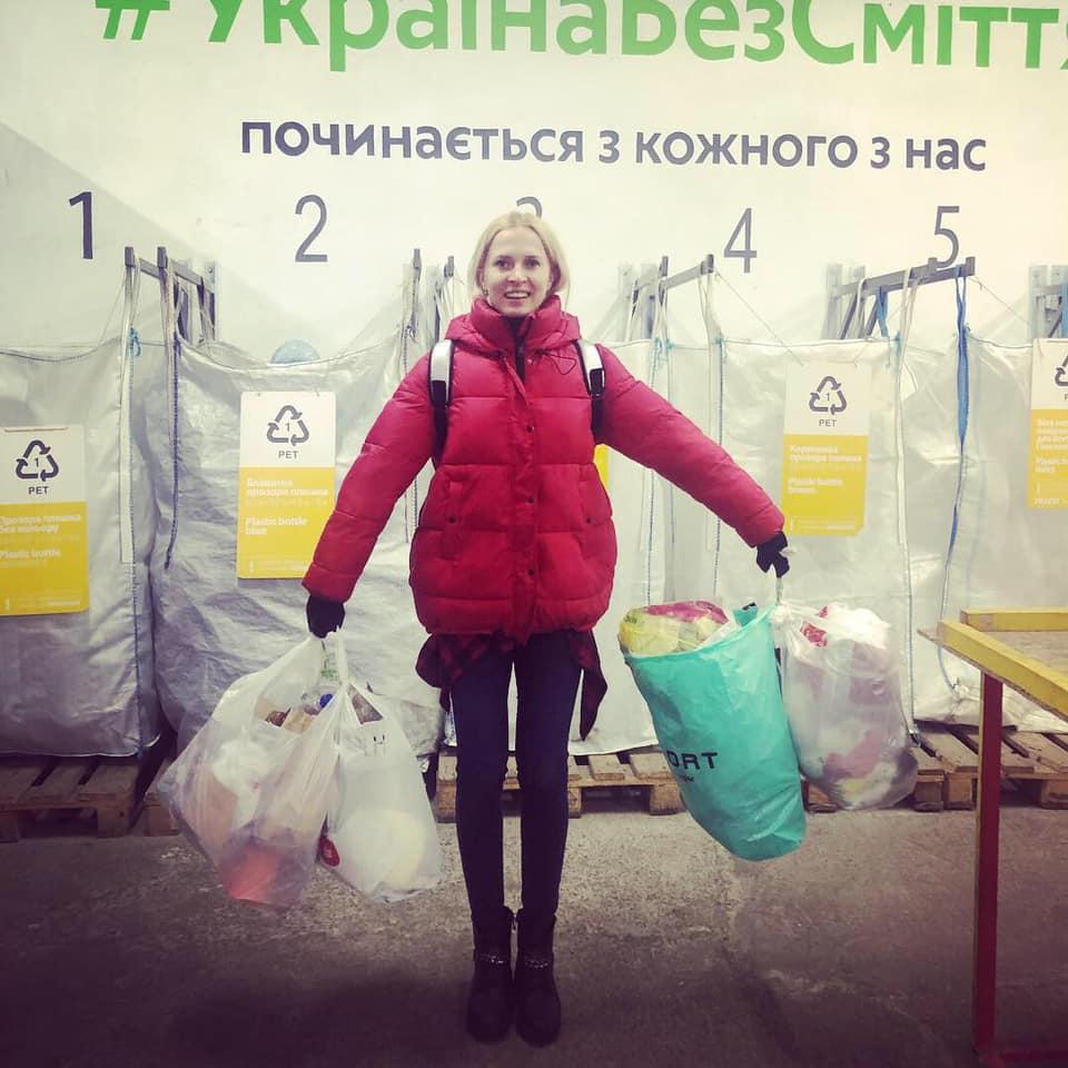 Украинская ТВ-звезда на собственном примере показала, как просто быть эко-френдли
