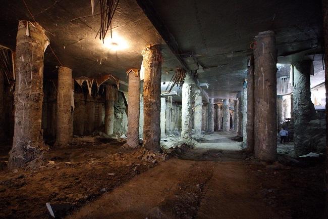 Музей на місці археологічних розкопок на Поштовій площі