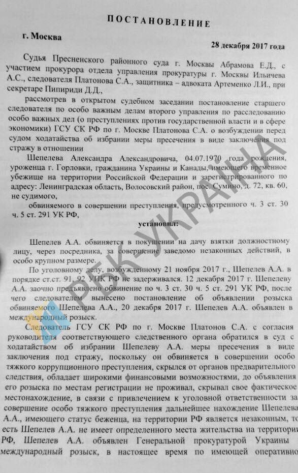 Зареєстровано провадження за заявою Шепелєва про побиття, - прокурор Кравченко - Цензор.НЕТ 4024