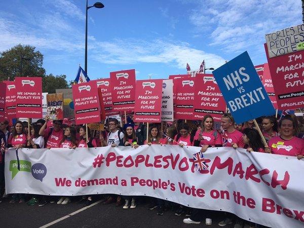 У Лондоні тисячі людей вимагають провести другий референдум щодо Brexit