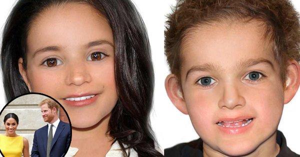 Как может выглядеть ребенок Меган Маркл и Гарри: появился портрет
