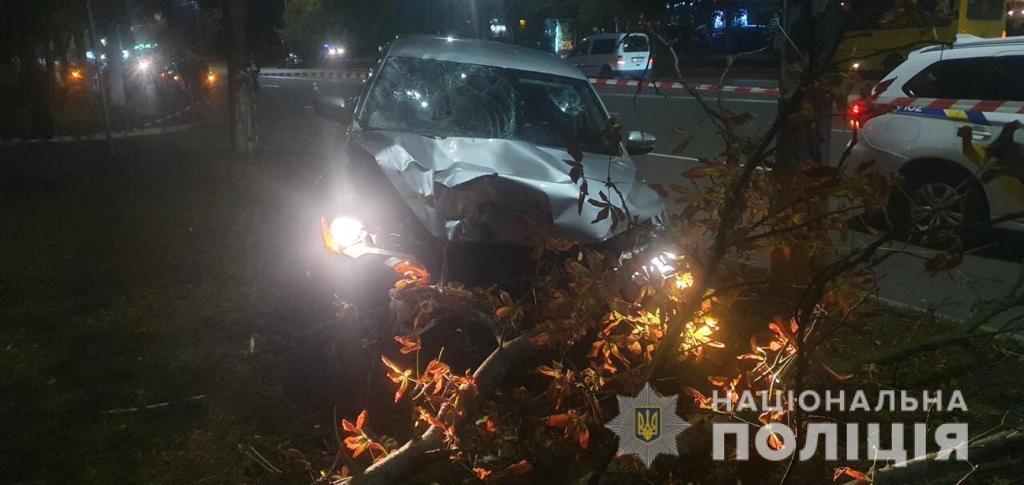 Під Києвом п'яний поліцейський збив двох жінок, одна померла