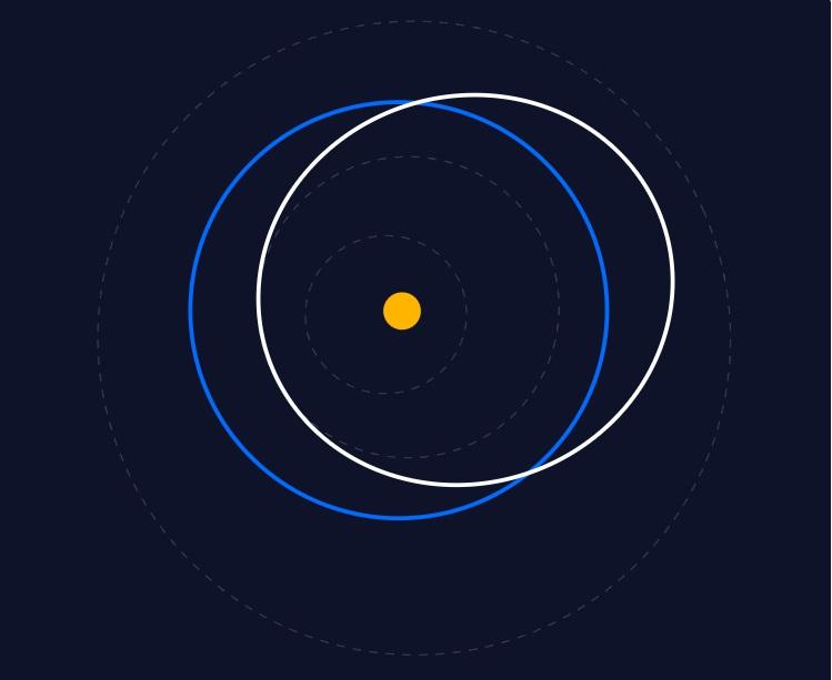 К Земле несется опасный астероид, который дважды пересечет ее орбиту
