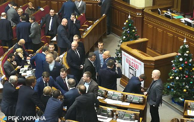 У Раді відбулася масова бійка через Медведчука