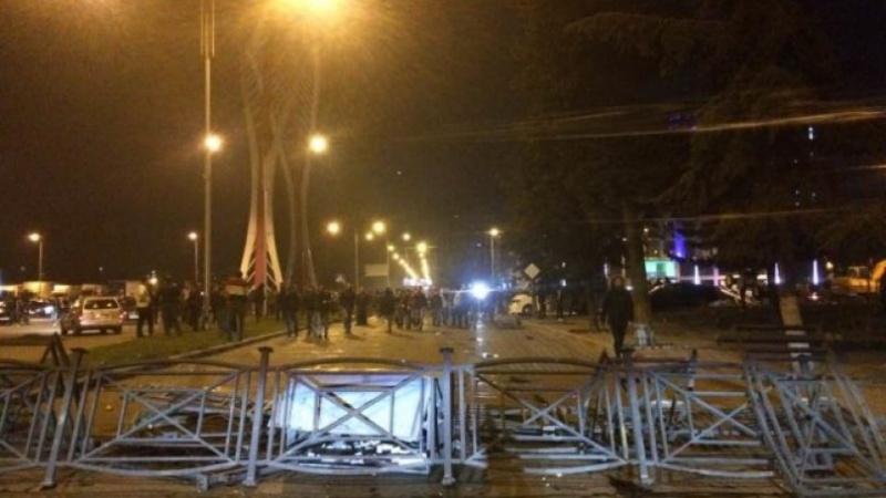 ВБатуми спецназ применил слезоточивый газ против активистов
