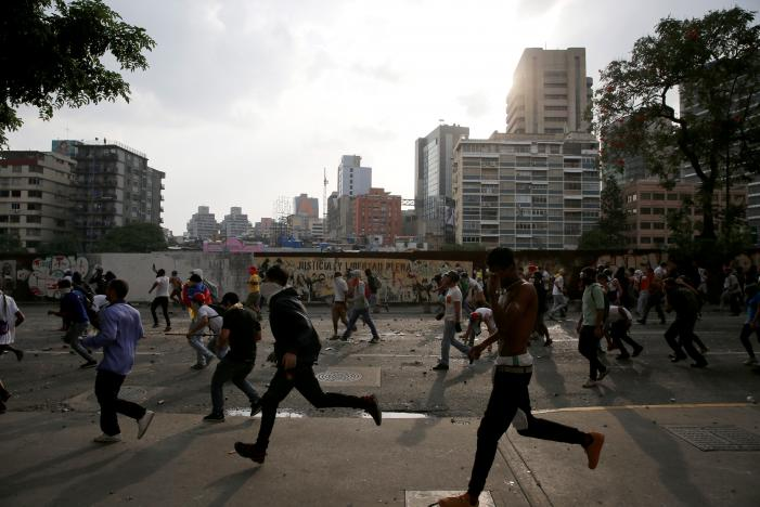 ВВенесуэле входе протестов убиты два студента игвардеец