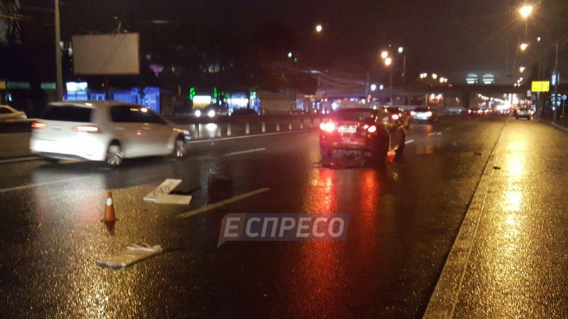 ВКиеве столкнулись 5 авто - Еспресо