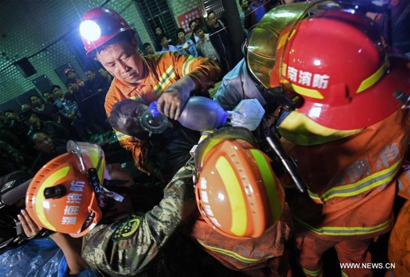 ВКитайской народной республике три человека погибли в итоге выброса газа наугольной шахте