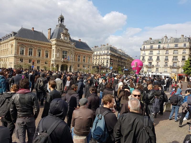 Акция протеста против Марин ЛеПен прошла воФранции