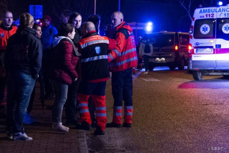 ВСловакии пассажирский поезд попал в трагедию, есть пострадавшие
