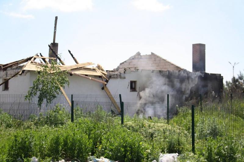 Бойовики обстріляли житловий сектор Бердянського