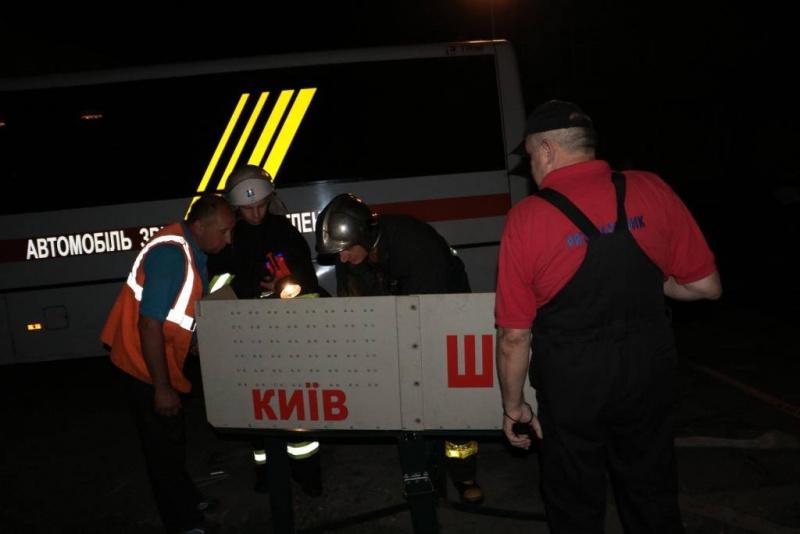 В Киеве на Подоле горела больница
