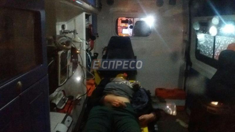 ВКиеве масштабное ДТП, один человек умер