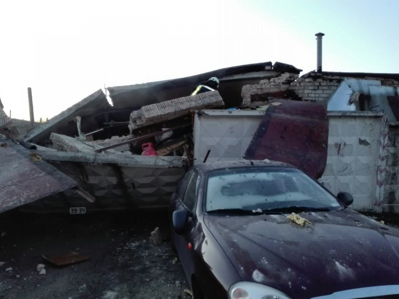 ВКиеве наТроещине взорвался гараж: есть пострадавшие