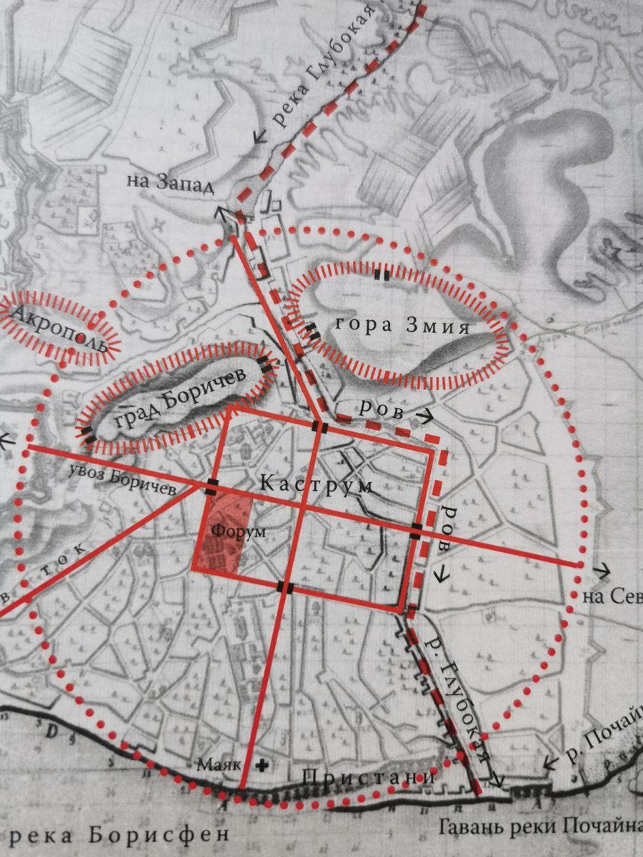 Это переворот: ученыйрассказал об античном городе на месте Киева и показал план