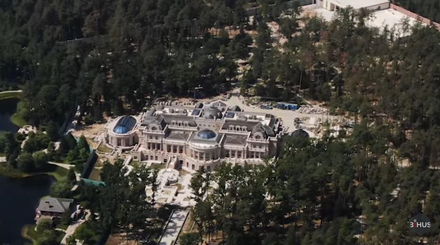 Журналисты показали новый элитный дом Ахметова под Киевом