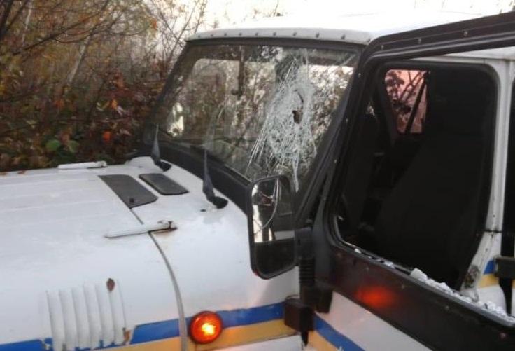 В Ровенской области произошла стычка между полицейскими и незаконными добытчиками янтаря