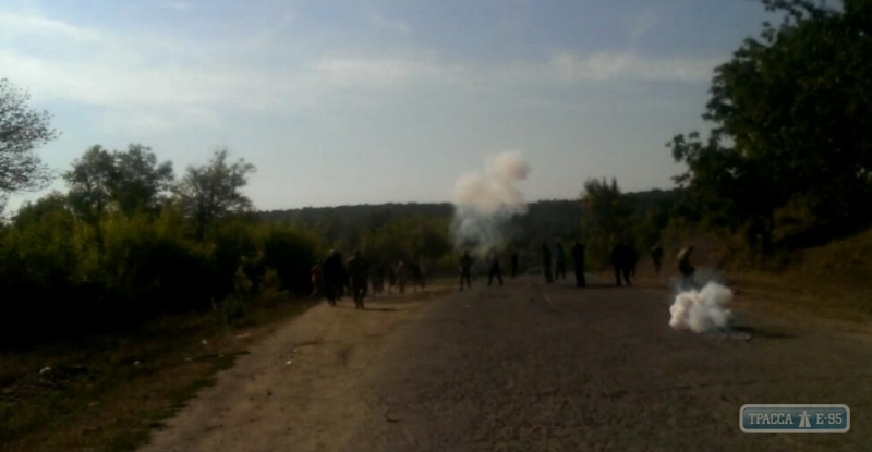 ВОдесской области из-за урожая подсолнуха появился вооруженный конфликт