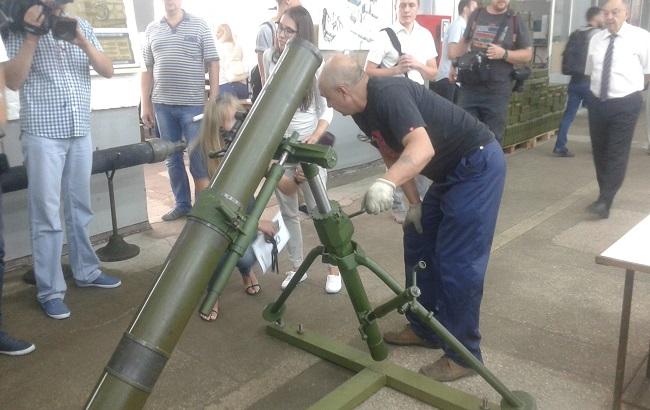 «Укроборонпром» продемонстрировал модернизированный украинский миномет