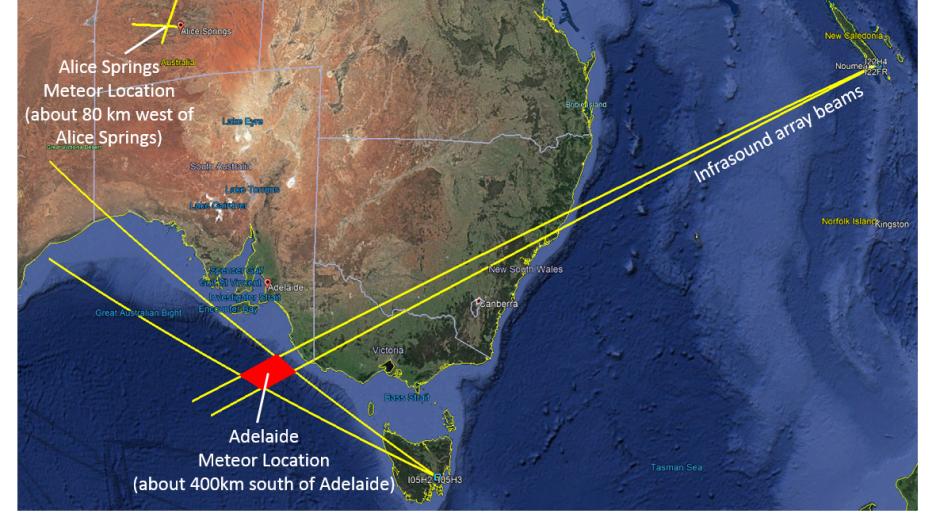 10% мощности бомбы в Хиросиме:над Австралией взорвался метеорит (видео)