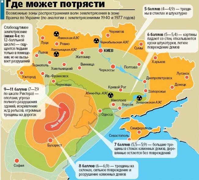 В Украине ожидается мощное землетрясение: какие области под угрозой