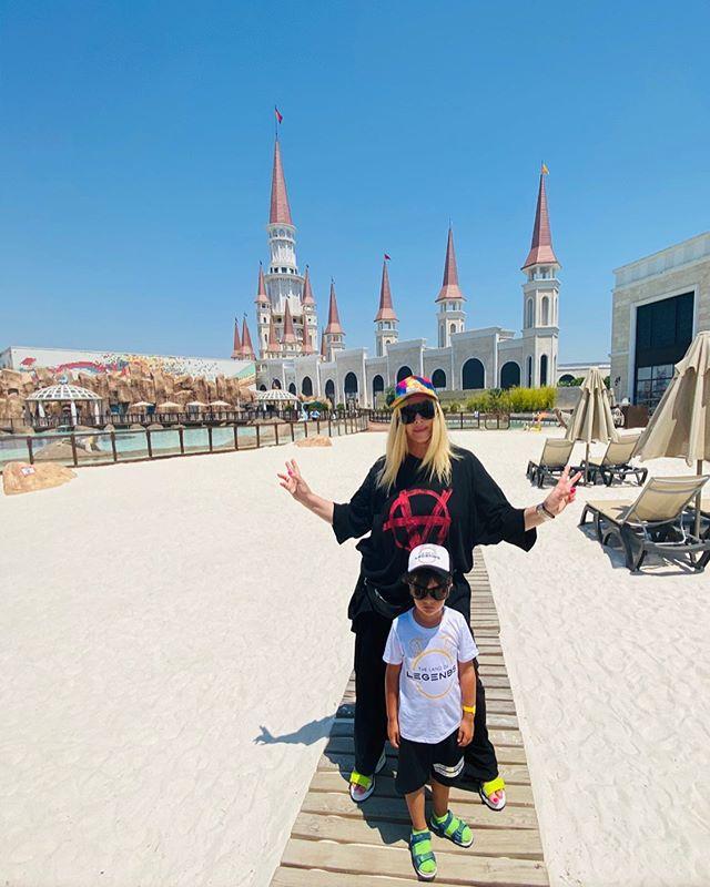 Сын Ирины Билык серьезно заинтриговал ее заявлением об отдыхе в Турции