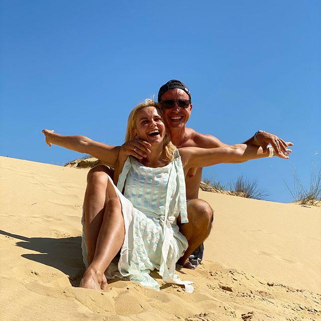 Peerless! Лилия Ребрик с мужем устроили роман посреди украинской пустыни