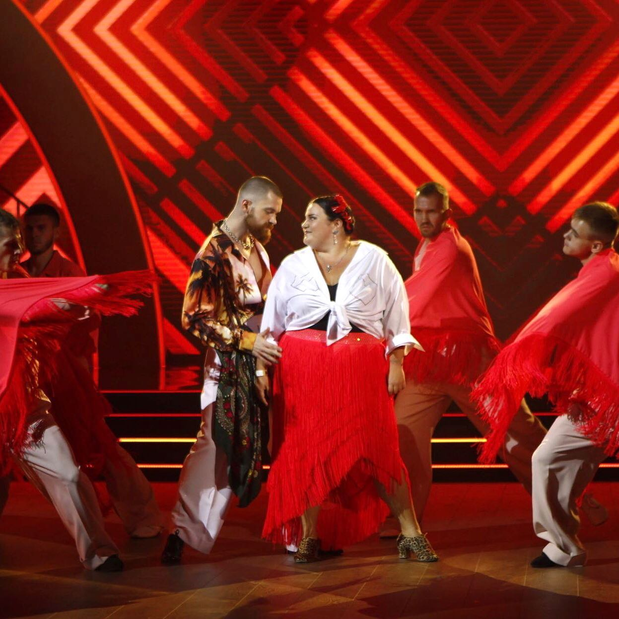 Алена Алена включилась на Танцах со звездами, но судьям это не понравилось