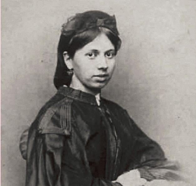 Татьяна Александровна Кузьминская ( Берс) , свояченица Л.Н. Толстого (сестра его жены Софьи)