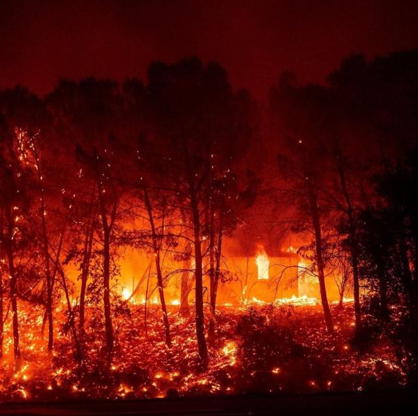 Калифорнию охватили лесные пожары. Власти просят помощи у Канады и Австралии