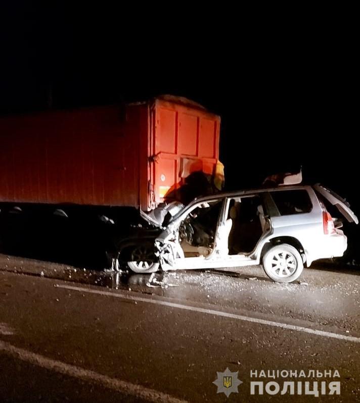 В ДТП на трассе под Одессой погиб полицейский