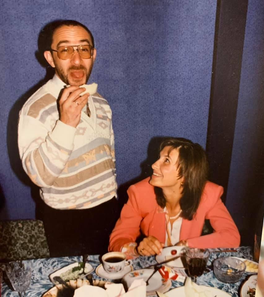 Экс-жена Кернеса показала фото из их бурной молодости