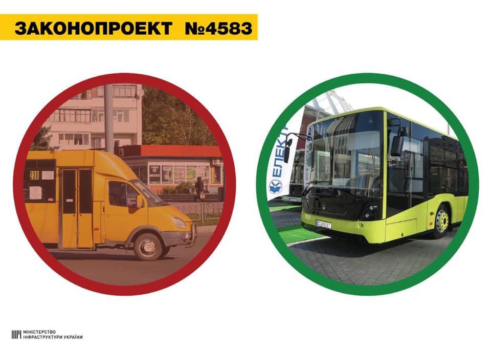 """В Украине изменится общественный транспорт: конец эры """"адских"""" маршруток"""