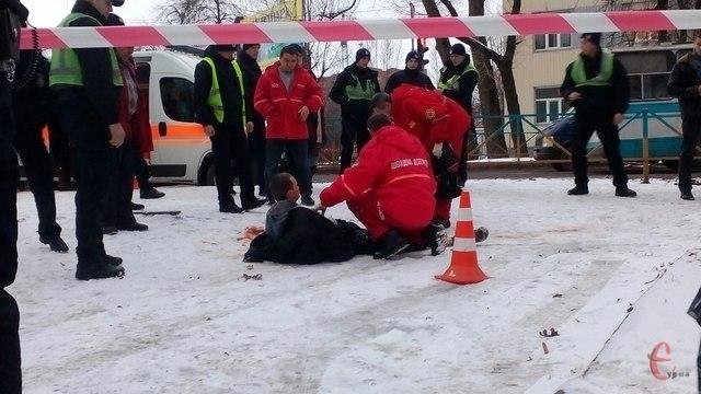 ВХмельницком навызове патрульных произошла стрельба