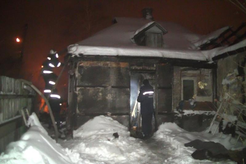 Впроцессе пожара наСалтовке погибла женщина