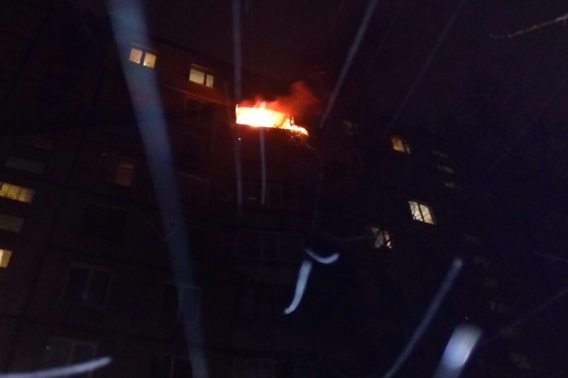 ВХарькове впроцессе ликвидации пожара спасены 3 человека, 1 женщина погибла