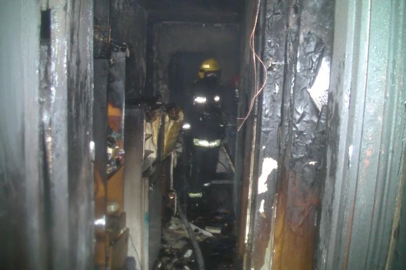 Из-за пожара вмногоэтажке вХарькове погибла женщина