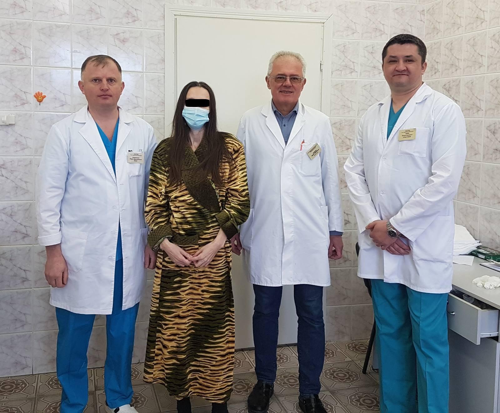 Во Львове женщине удалили гигантскую опухоль весом 30 килограммов