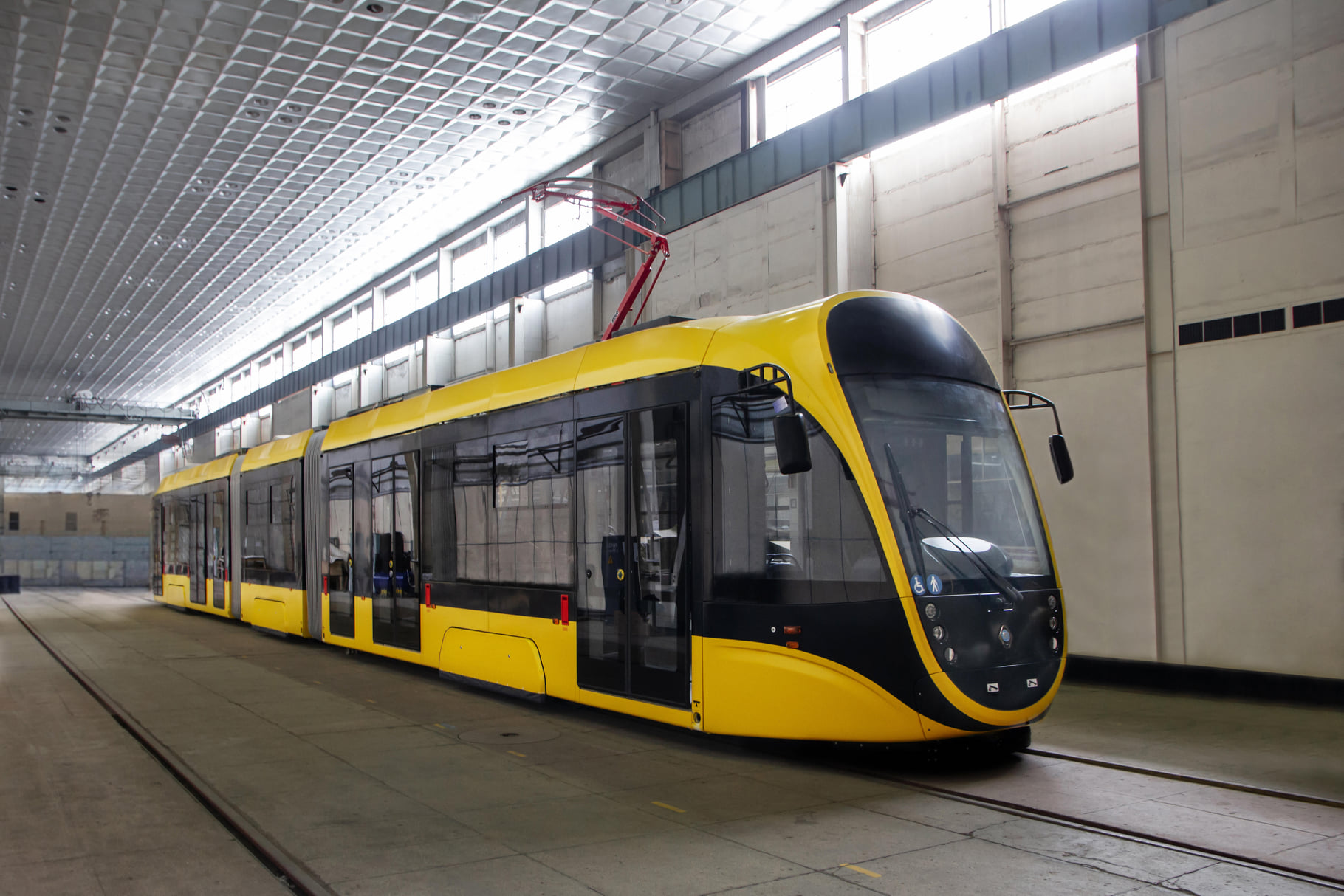 В Киев едут новые трамваи с Wi-Fi и системой подсчета пассажиров (фото)