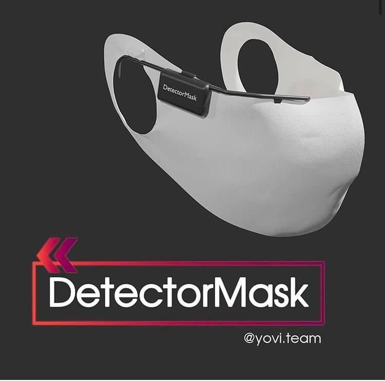 Українські школярі розробили маску, яка виявляє симптоми COVID-19