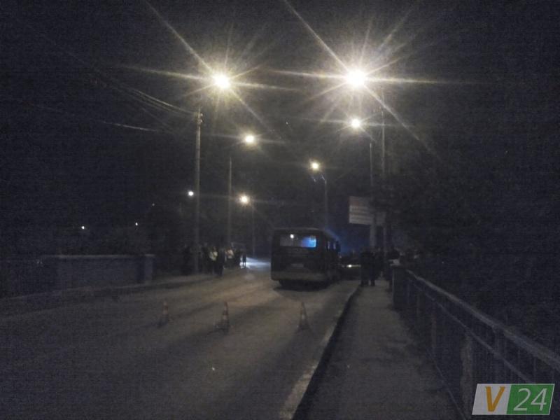 ВЛуцке БМВ протаранил маршрутку: один человек умер, 10 пострадавших