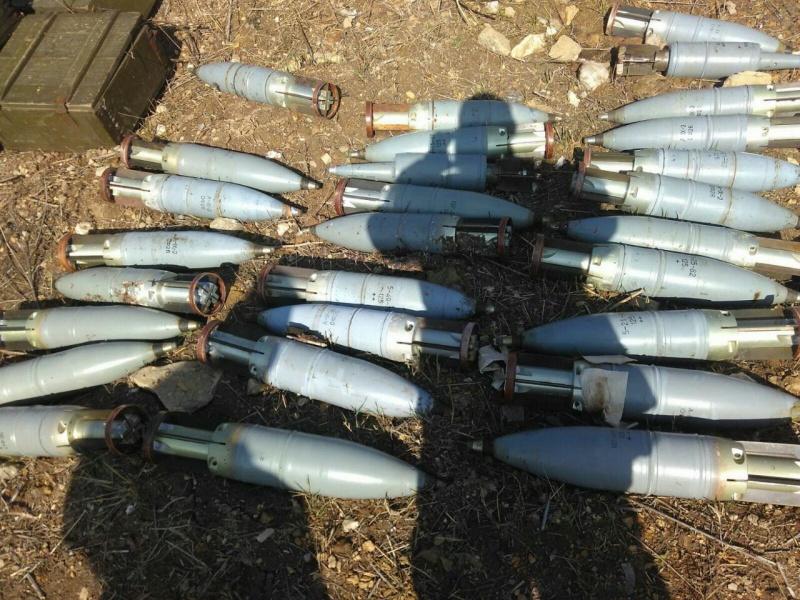 СБУ нашла наДонетчине хранилище с русским оружием