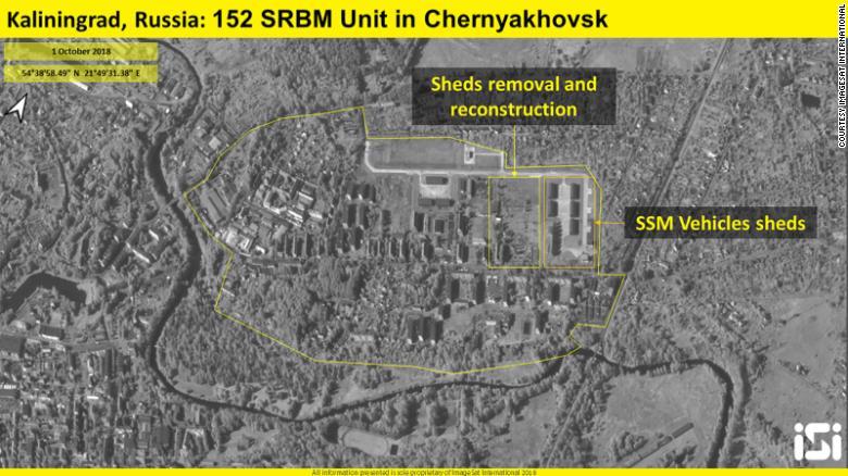 Спутник сфотографировал новые ядерные бункеры РФ под Калининградом
