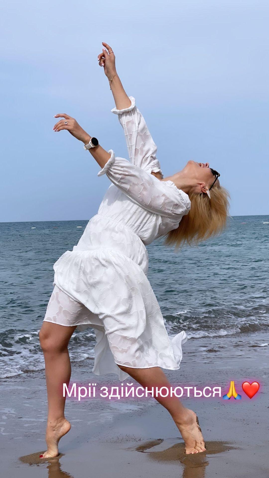 Лилия Ребрик отмечает 40-летие у моря: яркие семейные фото