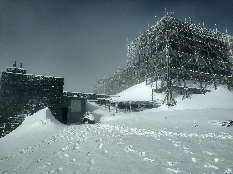 В Карпатах вночі випало 20 сантиметрів снігу