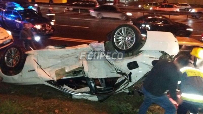 ВКиеве столкнулись BMW иACURA, есть погибшие