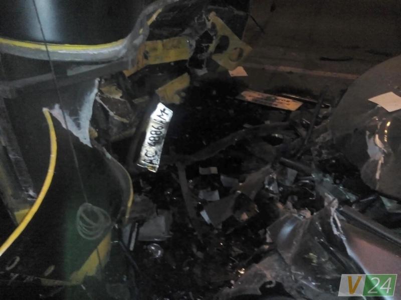 ВЛуцке БМВ протаранил маршрутку: один умер, 10 пострадавших