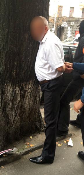 Фото: задержание (пресс-служба ГПУ)