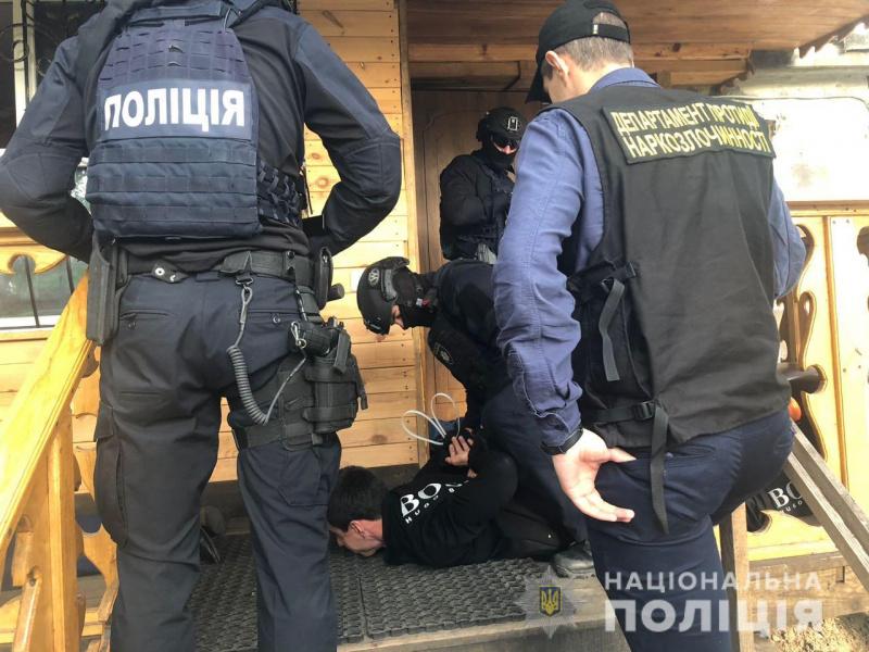В Киевской области полиция изъяла коноплю на 8 млн гривен