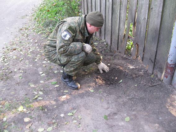 НаЧерниговщине в итоге срабатывания взрывного устройства пострадали двое селян
